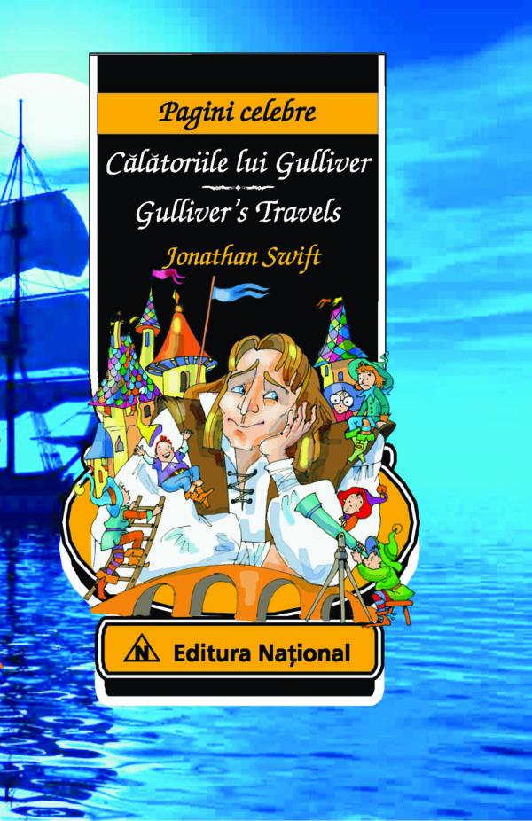 Călătoriile lui Gulliver - Ediţie bilingvă (română - engleză)